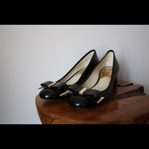Michael Kors patent leather pumps; size 8.5